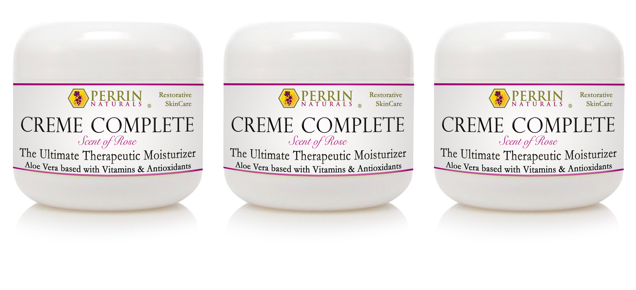 3-pack Creme Complete by Perin Naturals