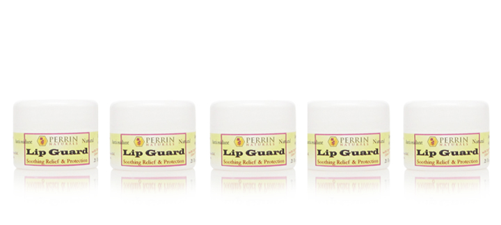 5 pack of perrin naturals lip guard