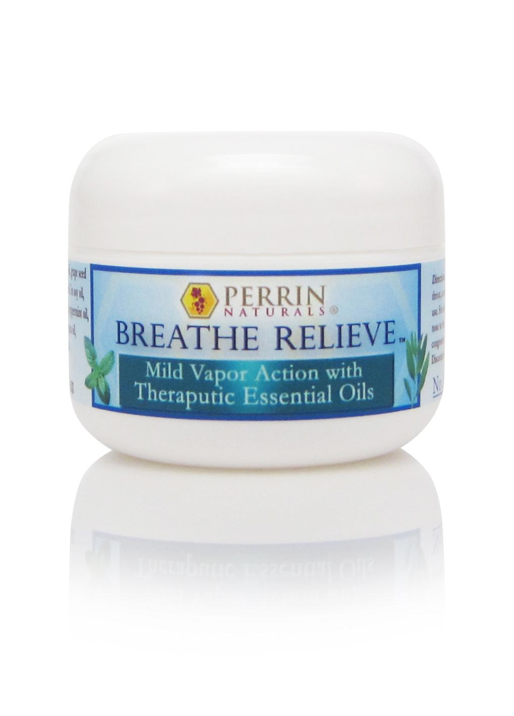 breathe relieve natural decongestant
