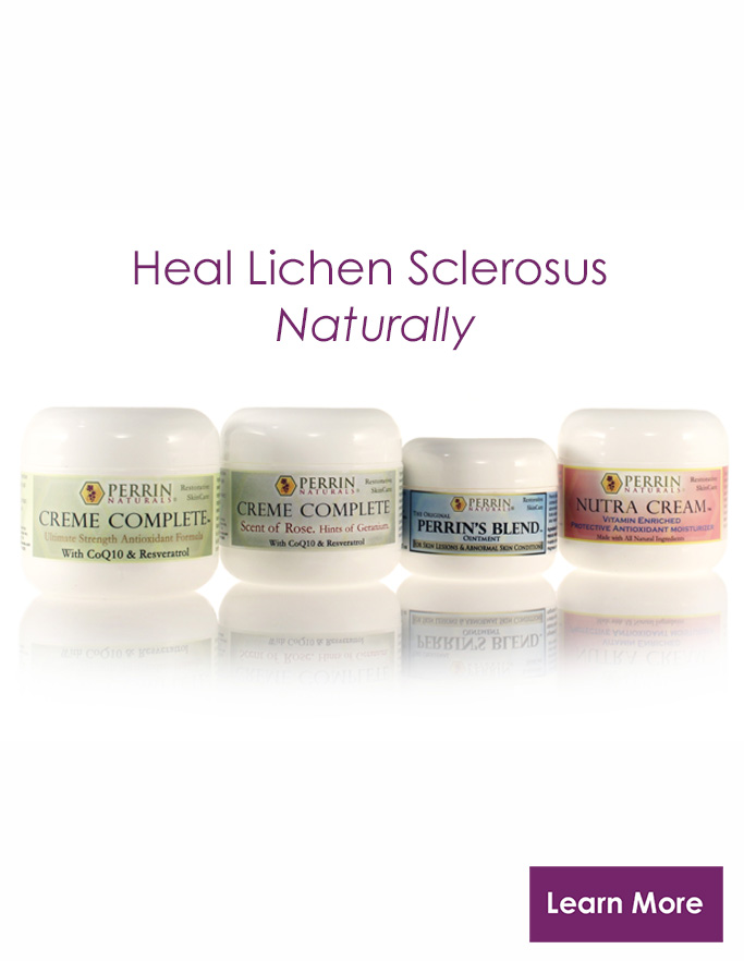 Natural Treatment for Lichen Sclerosus, Natural Creams for Lichen Sclerosus, Natural Cure and Relief
