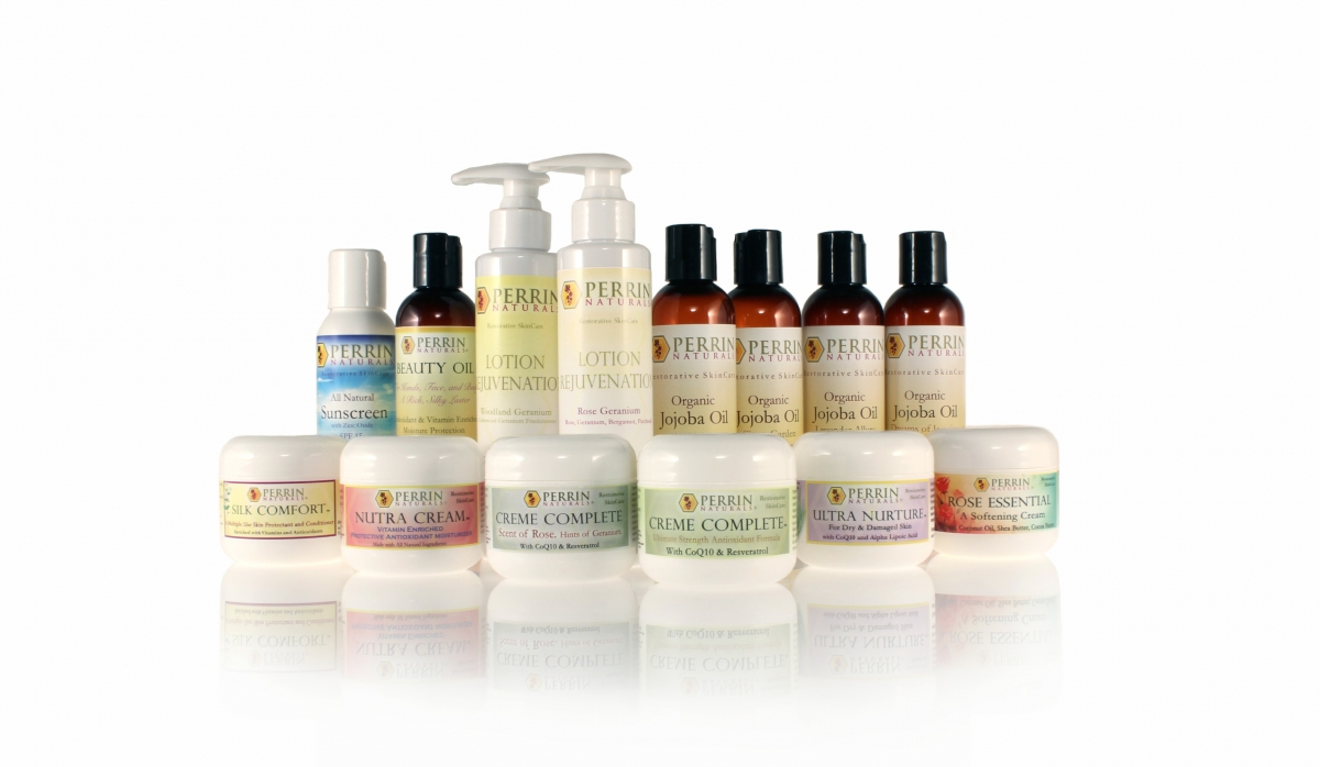 Perrin Naturals skin care products