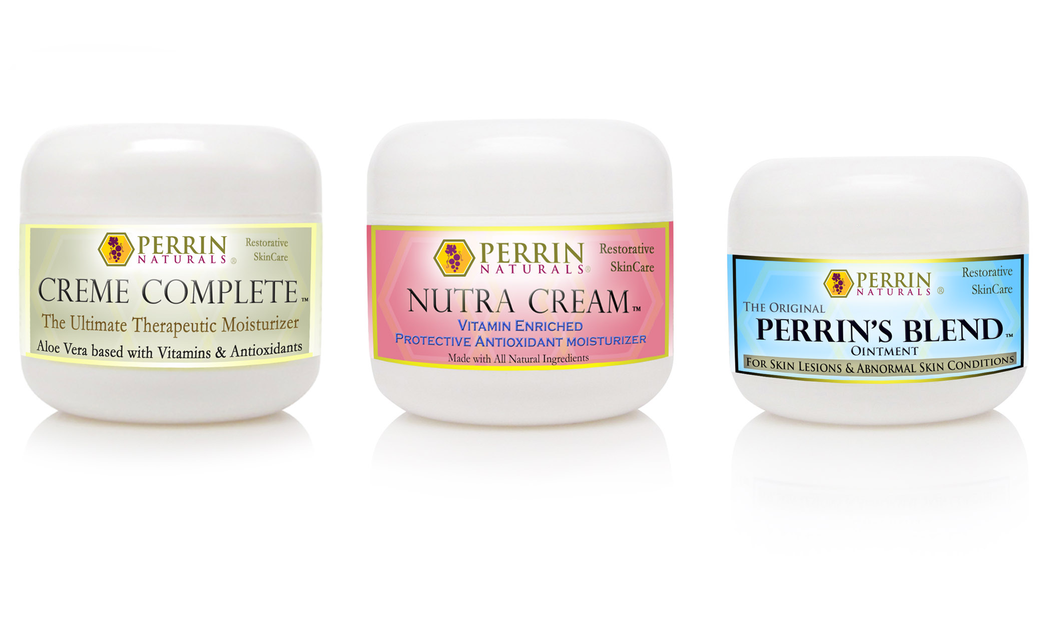 Natural Treatment for Lichen Sclerosus | Creme Complete, Perrins Blend, Nutra Cream