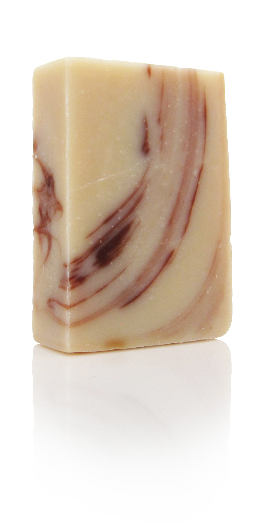cacao soap with Lemon, cinnamon leaf, patchouli, sweet orange