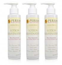 3 pack of lotion geranium