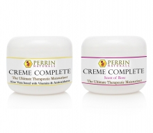 Creme Complete and Creme Complete Rose 1 oz size