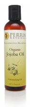 jojoba organic unscented oil by perrin naturals