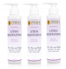 Three Perrin Naturals Lotion Bottles