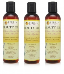 3 pack of beauty oil perrin naturals