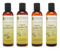 jojoba oil collection from perrin naturals
