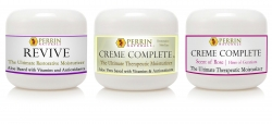 3 pack of perrin naturals creams